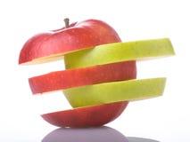 смешанное яблоко стоковое фото