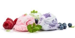 Смешанные ветроуловители мороженого вкуса Стоковые Изображения