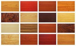 Смешанные деревянные текстуры Стоковые Фотографии RF