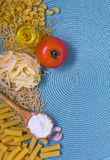 Смешанные макаронные изделия Стоковое Изображение