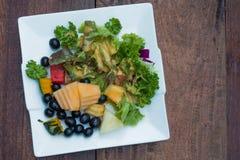 Смешанные овощи/салат Стоковая Фотография RF