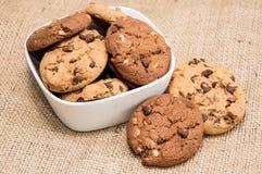 Смешанные печенья в шаре Стоковое фото RF