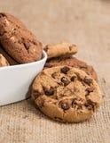 Смешанные печенья в шаре Стоковое Изображение RF