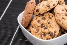 Смешанные печенья на шаре Стоковые Изображения RF