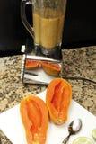 Смешанные семена папапайи Стоковое Изображение RF