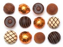 смешанные шоколады Стоковое фото RF