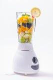 Смешанные экзотические плодоовощи в blender Стоковые Фото