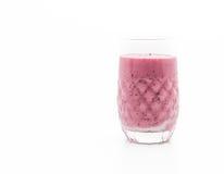 смешанные ягоды с smoothies югурта стоковые изображения rf