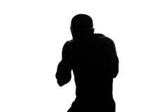Смешанный боец боевых искусств готовый для боя Стоковое Изображение RF