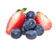 смешанный ворох ягод стоковые изображения rf