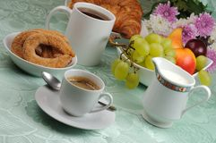 смешанный завтрак Стоковое фото RF