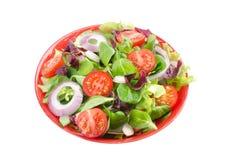Смешанный салат в шаре Стоковое Изображение RF