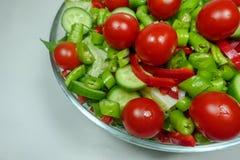 Смешанный салат для обедающего Стоковые Изображения