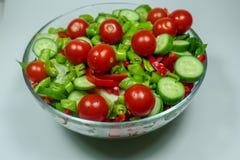 Смешанный салат для обедающего Стоковая Фотография RF