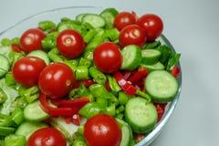 Смешанный салат для обедающего Стоковые Фотографии RF