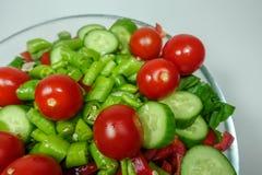 Смешанный салат для обедающего Стоковое Изображение