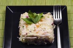 Смешанный салат капусты стоковая фотография