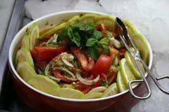 смешанный салат Стоковое Изображение