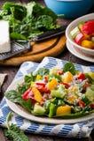 Смешанный салат, vegetable салат Стоковая Фотография RF
