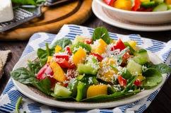 Смешанный салат, vegetable салат Стоковые Фото