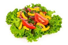 Смешанный салат с салатом Стоковое Изображение RF