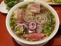 Смешанный суп Pho говядины стоковые фото