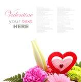 Смешанный цветок валентинки Стоковое Изображение