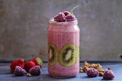 Смешанный smoothie плодоовощ Стоковое Изображение