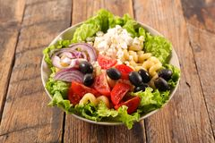 Смешанный vegetable салат стоковое фото rf