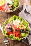 Смешанный vegetable салат стоковая фотография
