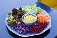 Смешанный vegetable салат Стоковые Фото