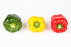 3 смешанных перца Стоковая Фотография RF