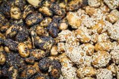Смешивание арахисов Стоковые Фотографии RF