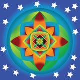 Смешивание звезды Стоковое Изображение