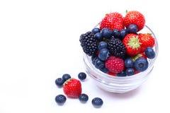 Смешивание зрелых, сочных ягод Стоковые Изображения RF