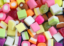 смешивание конфеты Стоковые Фотографии RF