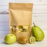 Смешивание обезвоженных плодоовощей в пакете Стоковое Изображение