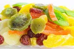 Смешивание различных высушенных плодоовощей Стоковая Фотография RF