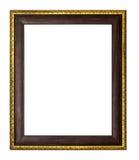 Смешивание рамки золотое коричневое Стоковое Фото