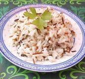 Смешивание риса Стоковая Фотография RF