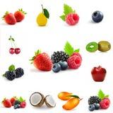 Смешивание темы ягоды стоковая фотография