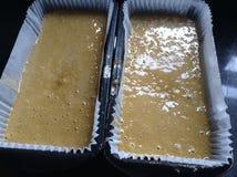 Смешивание торта Стоковая Фотография