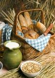 смешивание хлеба стоковое изображение rf