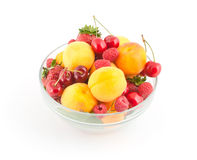 Смешивание ягод стоковое фото rf