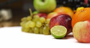 Смешивание Healty органическое состава плодоовощей Стоковые Изображения