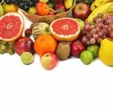 Смешивание Healty органическое состава плодоовощей Стоковые Фото