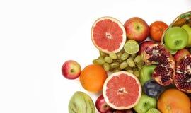 Смешивание Healty органическое состава плодоовощей Стоковое Фото