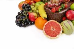 Смешивание Healty органическое состава плодоовощей Стоковая Фотография