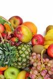 Смешивание Healty органическое состава плодоовощей Стоковые Фотографии RF