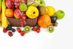 Смешивание Healty органическое состава плодоовощей Стоковое Изображение